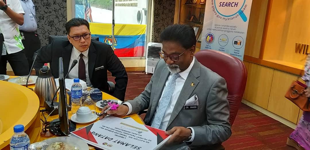 Jabatan Ketua Pengarah Tanah Galian Persekutuan Lawatan Yb Menteri Air Tanah Dan Sumber Asli Ke Pejabat Pengarah Tanah Dan Galian Wilayah Kuala Lumpur Pptg Wpkl